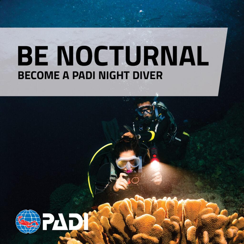 PADI Nachtduik Specialty